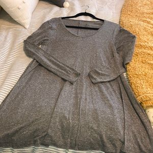 Grey volcom dress size xs